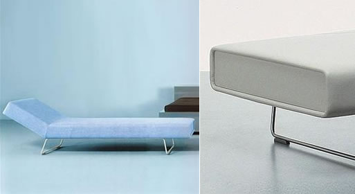 Loop Chaise Lounge & Bench by Barber Osgerby for Cappellini