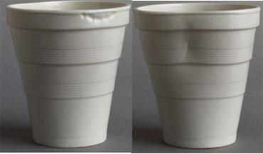 Porcelain Styrofoam Cups