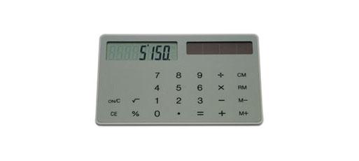 Slim Calculator by Muji