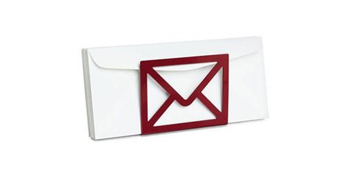 Letter Holder by Koray Ozgen, 1999