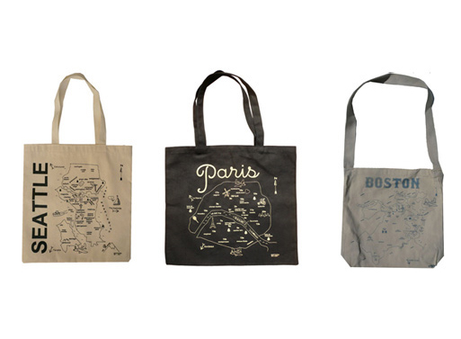 Map Totes