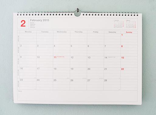 Mark's Notebook Calendars