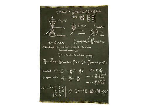 Math Dishtowel, Mug, Pencil Case