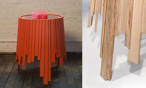 Matryoshka End Table by Rich Brilliant and Willing