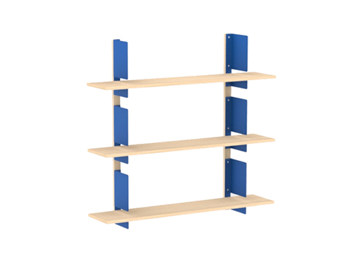 HS1 48-Inch Wall Shelves