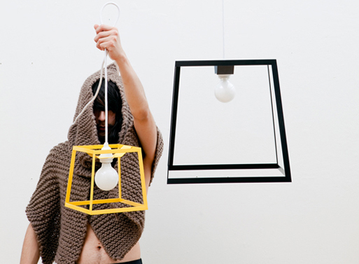 Frame Pendant Lamps by Iacoli and McAllister