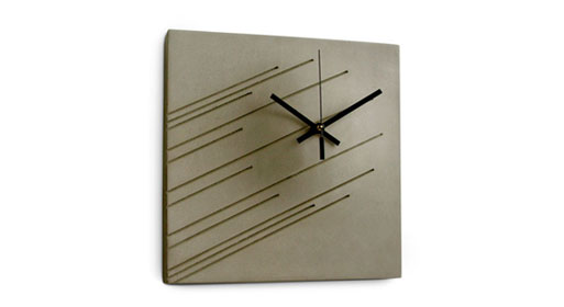 Meisler Imprint Wall Clock