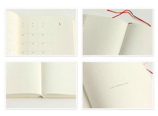 MIDORI MD 2014 Monthly Notebook