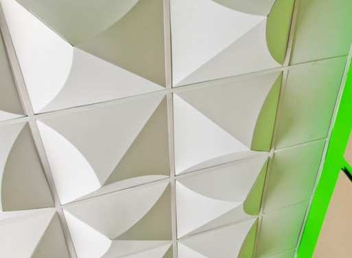 MIO Crystal Drop Ceiling — Ceiling Applications -- Better Living ... - Cardboard Wall Panels Patterns