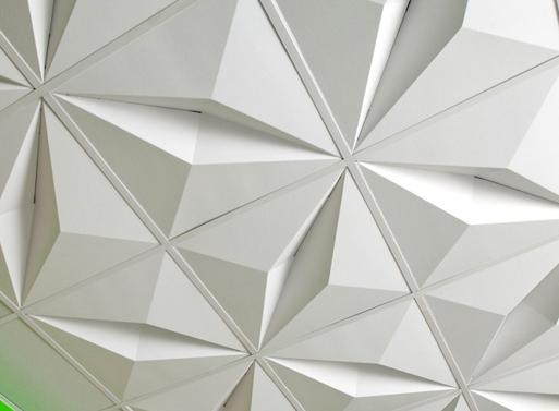 MIO Crystal Drop Ceiling
