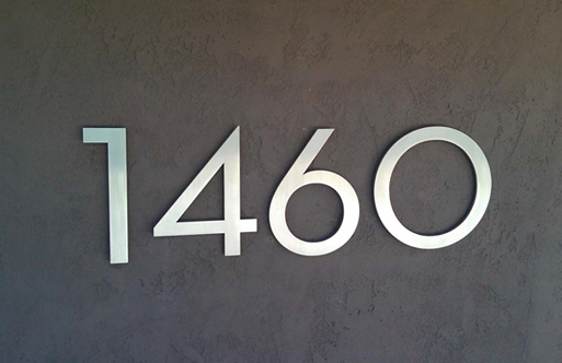 Welcome new post has been published on kalkuntacom for Contemporary house numbers and letters