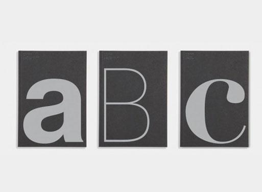 Alphabet Notebooks by Monotype