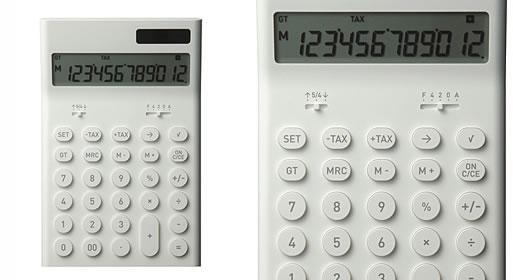 Electronic Calculator M by Naoto Fukasawa
