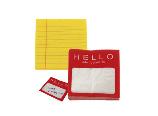 Napkin Notes by DCI