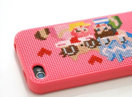 Neostitch Cross Stitch iPhone Case