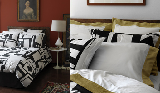 Collage Charcoal Bedding