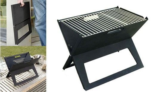 Notebook Portable Grill