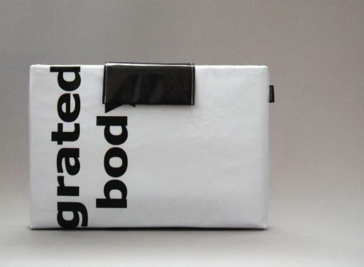 Recycled Billboard Banner Macbook Sleeve