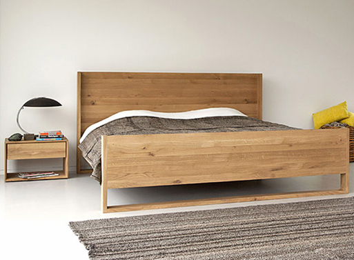 Oak Nordic Bed Bedroom Better Living Through Design