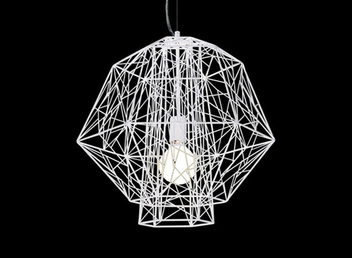 Olympus-Powder-Coated-Pendant-Light