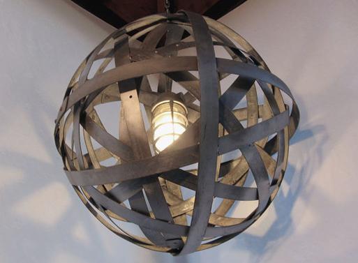 Orbits urban chandelier by StilNovoDesign