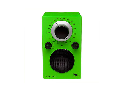 PAL radio, iPod compatible