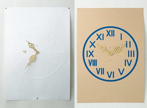 Paper Clocks