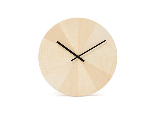 Pieces of Time Wall Clock