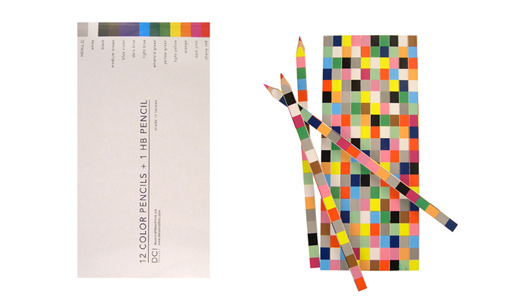 pixel colored pencils