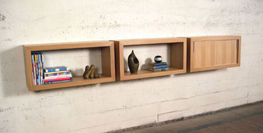 Mini Stacked Shelving System Bookcases Better Living