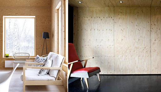 Plywood Walls