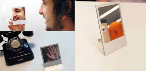polaroid mirror