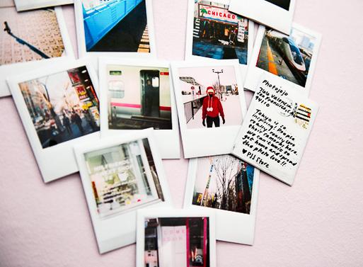 Polapost Polaroid Postcards