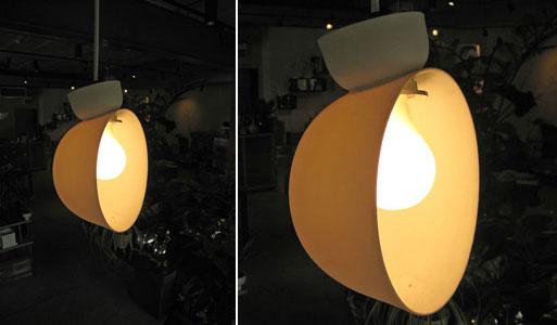 Directional Porcelain Lamp