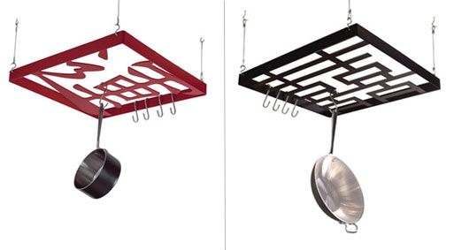 Potluck and Double Happiness Pot Racks