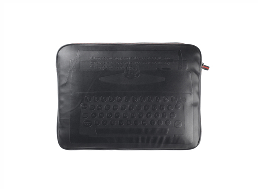 Embossed QWERTY Laptop Case