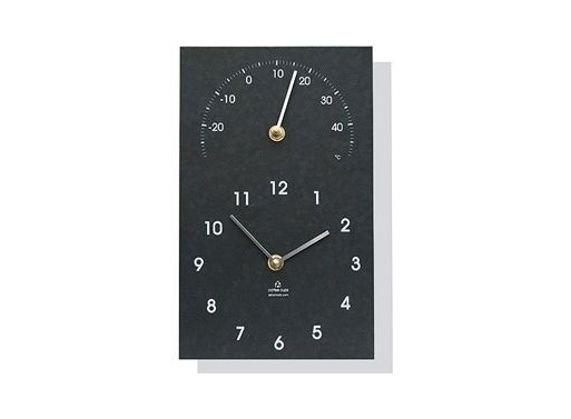 Recycled Clock & Thermometer Classic