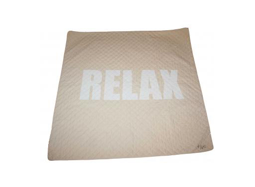 RELAX Quilted Picnic Blanket