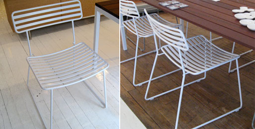 Satellite Chair, White (Floor Samples)