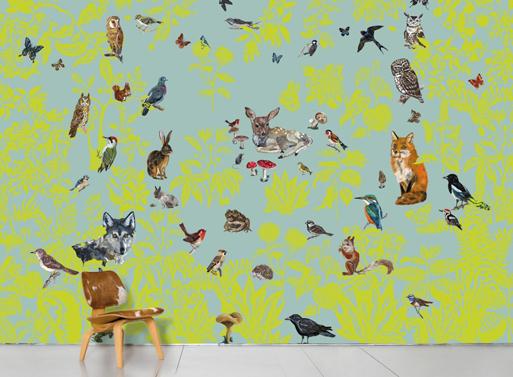 Scenic Wallpaper Forêt Verte