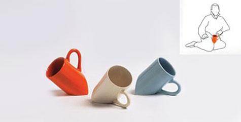 Slanted Mug