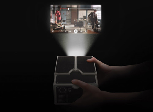 Cell Phone Projector - Magazine cover
