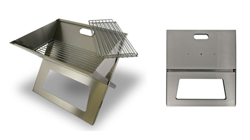 Stainless Steel Notebook Grill