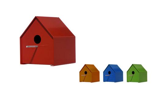 Steel Birdhouses