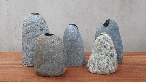 Rock Vases