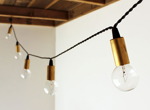 Design With String Lights : String Lights ACCESSORIES -- Better Living Through Design