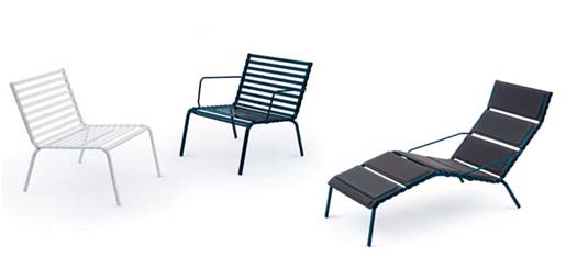 Striped collection by Ronan and Erwan Bouroullec