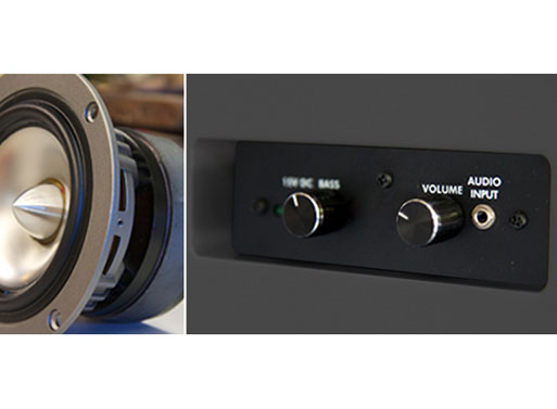 Symbol Audio Tabletop Hifi details