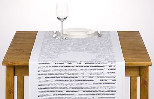 """""""Take Your Time"""" Table Runner"""