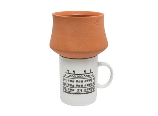 Terracotta Funnel by Grain